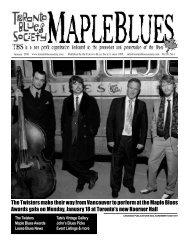 January 2010 - Toronto Blues Society