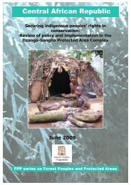 Central African Republic - Forest Peoples Programme