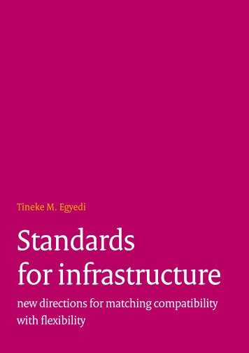 Standards for infrastructure - Forum Standaardisatie