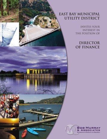 east bay municipal utility district director of finance - Bob Murray ...