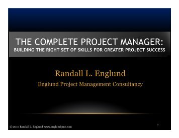THE COMPLETE PROJECT MANAGER: