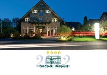Unser aktueller Hausprospekt - Landhotel Voshövel