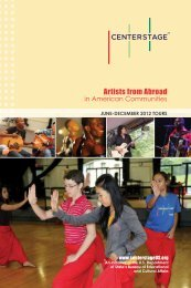 Artists from Abroad in American Communities - New England ...