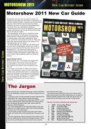 New Car Buyers' Guide - Motorshow
