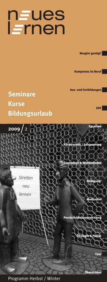 Seminare Kurse Bildungsurlaub - Eul-Gombert & Gombert