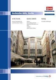 Hackesche Höfe, Berlin - Gruppe G+H