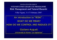 "An introduction to ""RISK"" : WHAT DO WE MEAN? HOW DO WE ..."