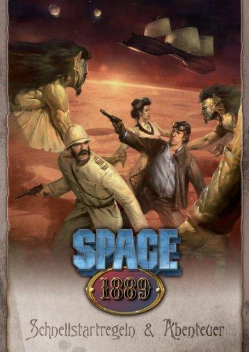 Space 1889 Quickstart - Uhrwerk-Verlag