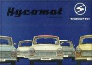 Trabant 601 Hycomat - Original Trabant