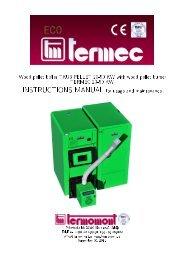 Wood pellet boiler TKU3 PELLET 20-50 KW with wood ... - Termomont