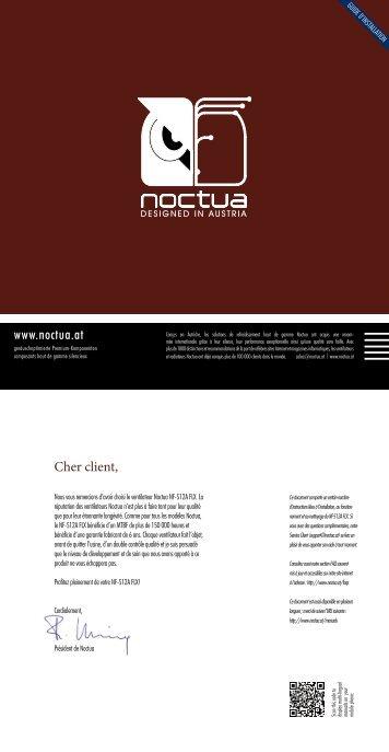 NOCTUA NF-S12A FLX Manual (FR) - Noctua.at
