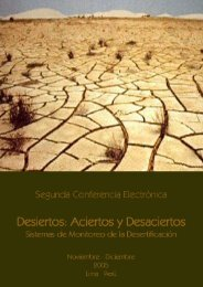 Desiertos: Aciertos y Desaciertos Noviembre-Diciembre 2006 ...