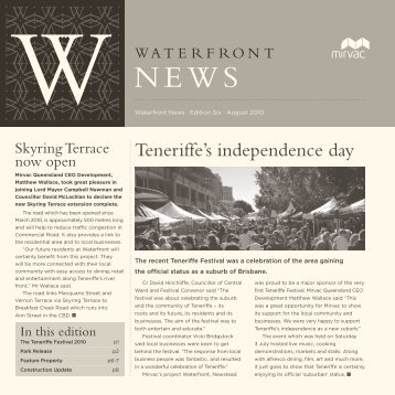 Teneriffe's independence day - Visit site