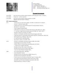 Download sample of projects engl. (PDF) - Andreas Mirgel ...