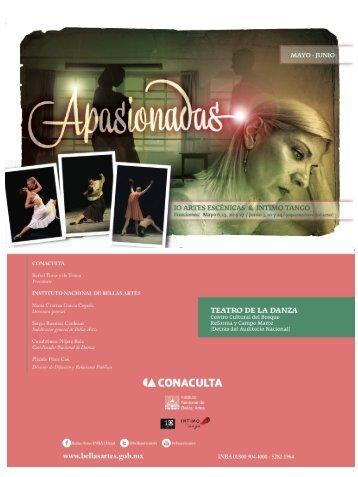 MAYO - JUN IO - Coordinacion Nacional de Danza - Instituto ...