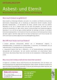 Asbest- und Eternit - Entsorgungsbetrieb der Stadt Mainz
