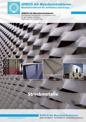 Streckmetalle - Sprich AG Maschenstrukturen