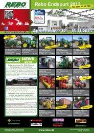 Rebo News aktuell.pdf - Rebo Landmaschinen GmbH