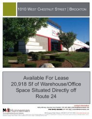 1010 West Chestnut St, Brockton. 20918 SF Office ... - NAI Hunneman