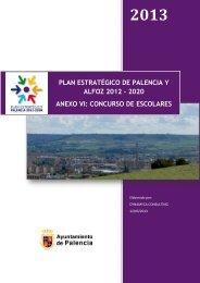 anexo vi: concurso de escolares - Ayuntamiento de Palencia