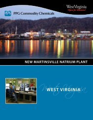new martinsville natrium plant - West Virginia Department of ...