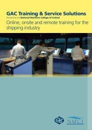 Maritime Training Solutions - GAC