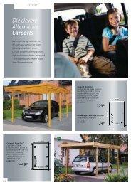 Die clevere Alternative: Carports