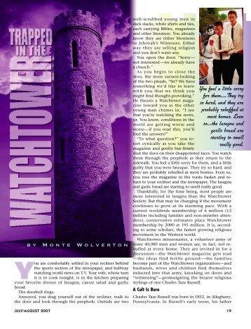 19-23 Watchtower:Master Galley - Plain Truth Ministries
