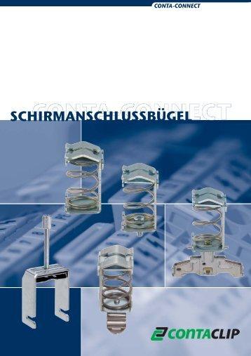 EMV - Schirmanschlussbügel