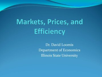 Example - Department of Economics - Illinois State University