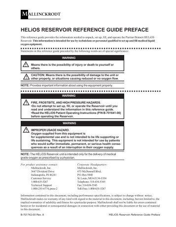 Helios liquid oxygen | helios lox h850 h500.