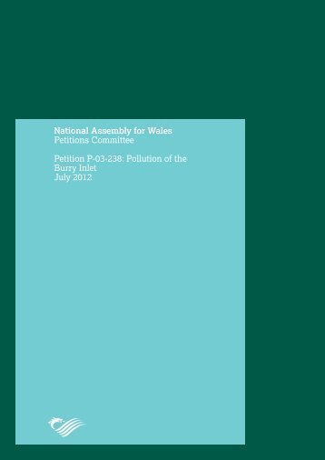Report : Pollution of the Burry Inlet - July 2012 PDF 550 KB - Senedd ...