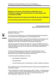 Grusswort Regierungsrat Bernhard Pulver ... - Kanton Bern