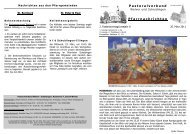 13. März bis 20. März 2011 - Pastoralverbund Welver-Scheidingen
