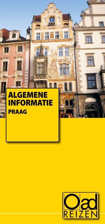 ALGEMENE INFORMATIE - Oad Reizen!
