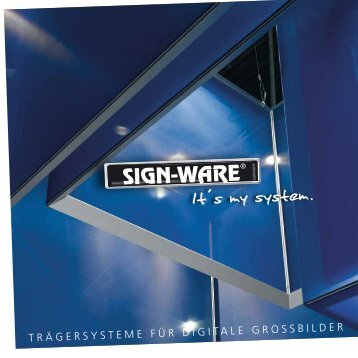 Image-Broschüre 2011 - Sign-Ware