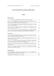Zeitschrift für Rechtssoziologie