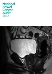 National Bowel Cancer Audit 2012 - HQIP