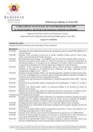 Compte-rendu des votes du 28 mai 2008 (pdf - 72,51 ko) - Suresnes