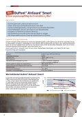 duponttm tyvek® und duponttm airguard - DuPont™ Tyvek - Seite 6