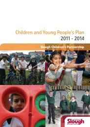 Children and Young People's Plan 2011 - 2014 - Slough Council for ...
