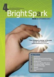 Bright Spark - 4E - Efficient Electrical End-Use Equipment
