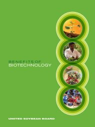 overview of agricultural biotechnology's role in improving human ...