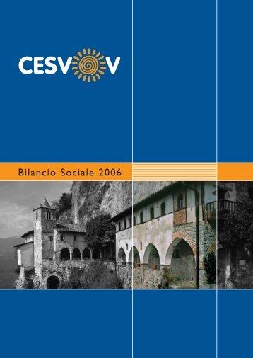 Bilancio Sociale 2006 - Cesvov