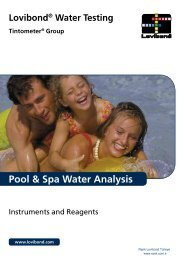 Pool & Spa Water Analysis