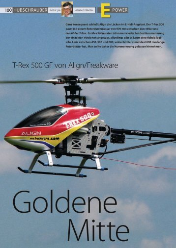 T-Rex 500 gf von Align/Freakware