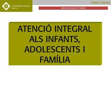 Programa Atenció integral als infants, adolescents i família