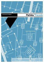 Parklex Facade Technisches handbuch