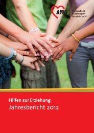 Jahresbericht 2012 - AWO Kreisverband in der Region Osnabrück