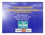 Kaety Hildenbrand, Catching Fishermen – Engaging Coastal ...